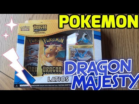 🐲 POKEMON - DRAGON MAJESTY OPENING! 🐉 CAN WE PULL AN ULTRA RARE??