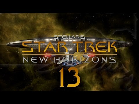 Stellaris Star Trek #13 STAR TREK NEW HORIZONS MOD - Gameplay / Let's Play