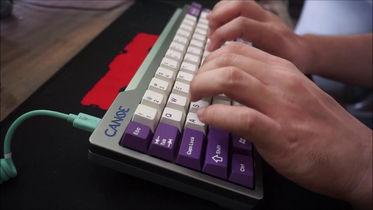 Taobao Canoe (Fanoe) T1 typing test