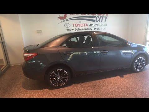 2015 Toyota Corolla Johnson City TN, Kingsport TN, Bristol TN, Knoxville TN,  Ashville, NC P2877