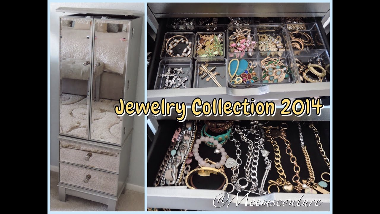 Jewelry Collection 2014 Hayworth Armoire YouTube