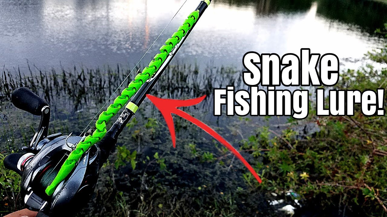3d printed snake fishing lure catches fish diy fishing for 3d printed fishing lures