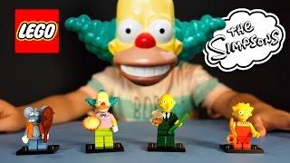 Simpsons Lego Minifigures 71005. Обзор Игрушек на русском. Лего мультики