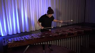 Hyeji Bak - Bach Suite 6 Sarabande for cello / Marimba