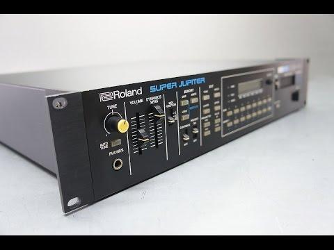 Roland MKS-80 Super Jupiter Analog Synthesizer -  Synth-Pop Demo, by al l bo