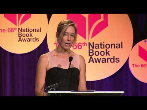 Laura McNeal presents the 2015 National Book Award in Young People's Literature