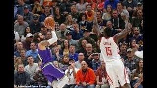 Utah Jazz vs Houston Rockets NBA Full Highlights (7TH DECEMBER 2018-19)