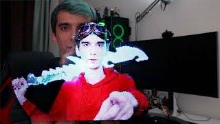 Kendimi 3D HOLOGRAM Yaptım!