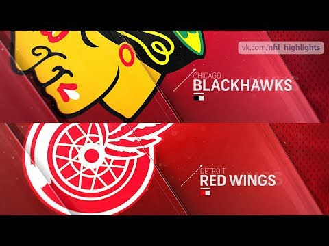 Chicago Blackhawks vs Detroit Red Wings Feb 20, 2019 HIGHLIGHTS HD