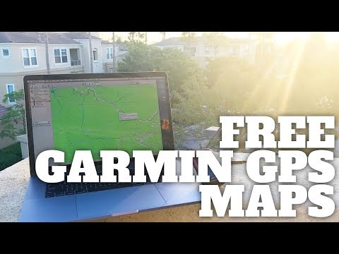 How To Get Free Garmin GPS Maps For Hiking - YouTube