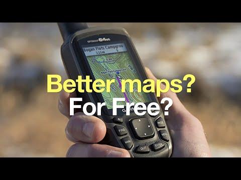 How To Get Free Garmin Map Update Gps Update Guide >> How To Get Free Garmin Gps Maps For Hiking 2019 Hikingguy Com