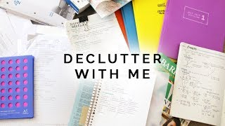 Declutter With Me: What To Do With Old Papers
