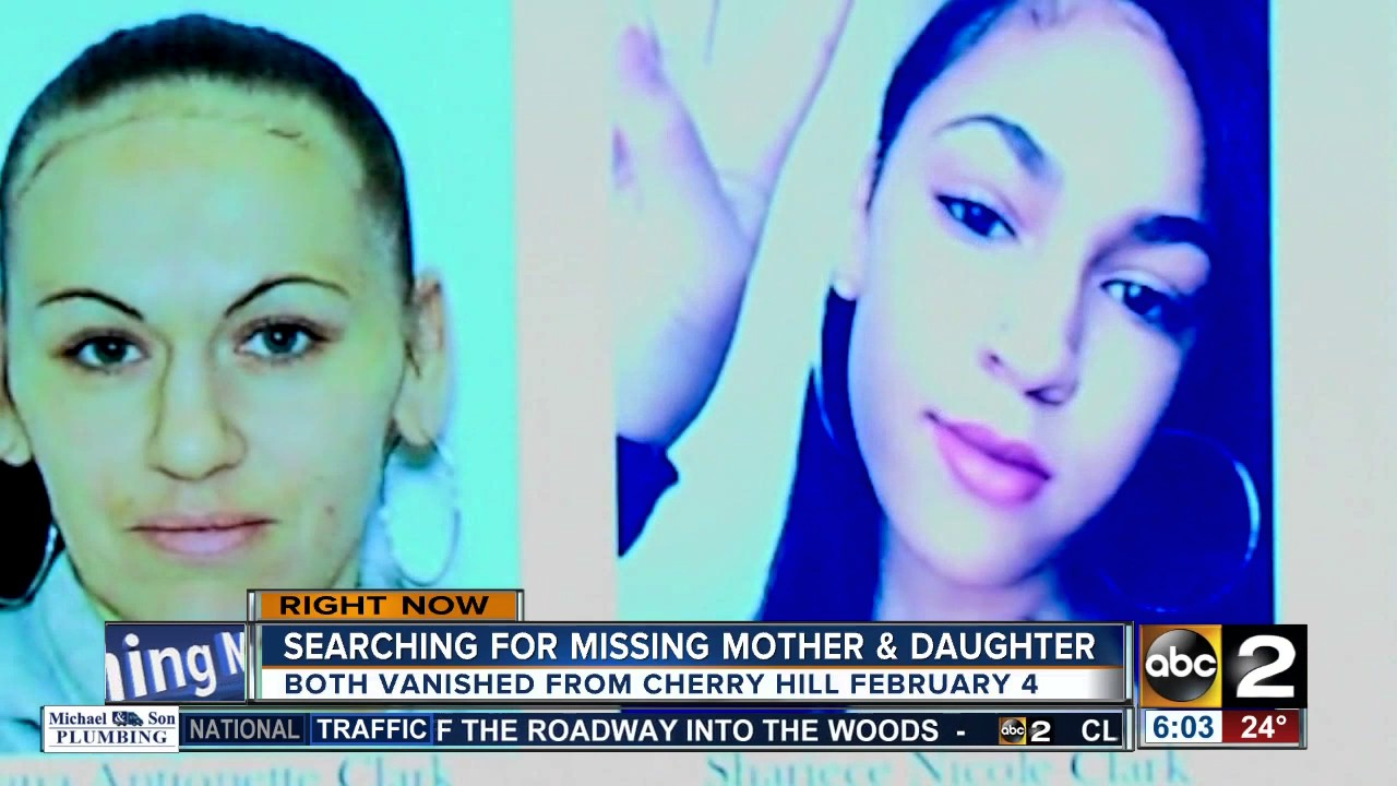 Baltimore Police Searching For Missing Mother Daughter