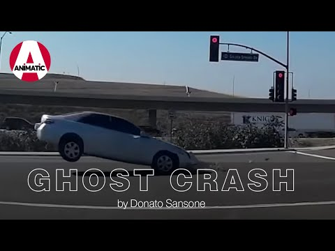 SPOOKY! UNEXPLAINED CAR CRASHES CAUGHT ON CAMERA