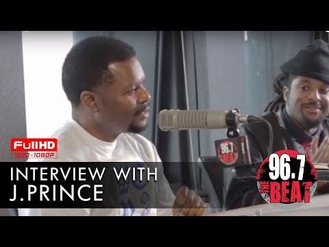 DJ Scream - J. Prince Drops Knowledge in Interview with DJ Scream