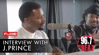 J. Prince Drops Knowledge in Interview with DJ Scream