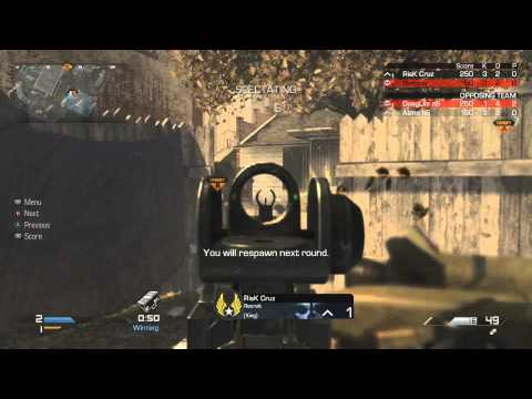 Why I hate Ghosts - 2v2 UMG's with RisK Cruz