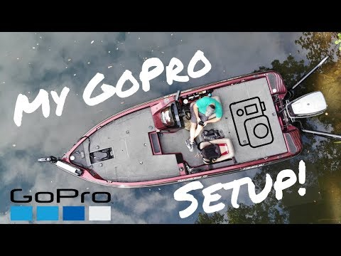 My GoPro Setup While Fishing