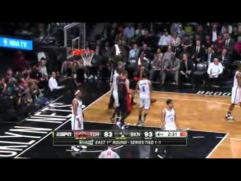Nba playoffs-Raptors vs Nets game 3 highlights