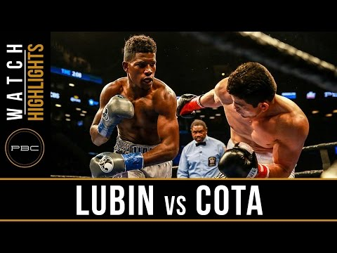 Lubin vs Cota HIGHLIGHTS: March 4, 2017 - PBC on CBS