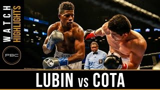 Lubin vs Cota HIGHLIGHTS: March 4, 2017 - PBC on CBS