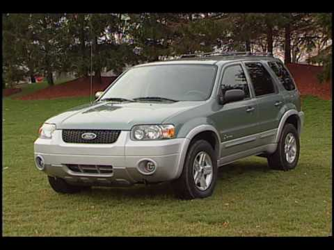 Ford Escape Hybrid 2005 Youtube