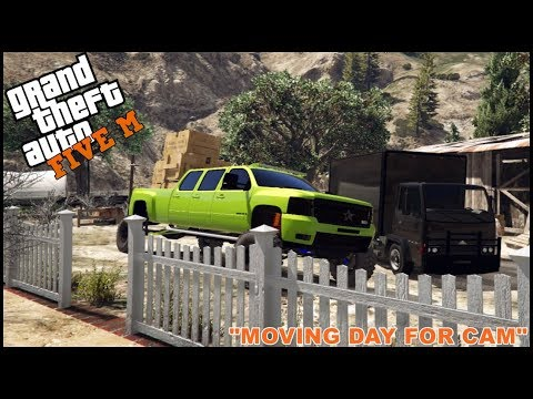 GTA 5 ROLEPLAY - HELPING CAM MOVE TO HIS NEW HOUSE! - EP. 173 - CIV