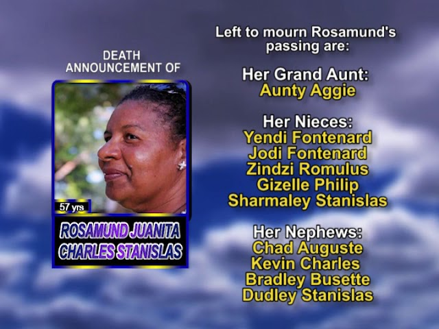 Rosamund Juanita Charles  Stanislas long