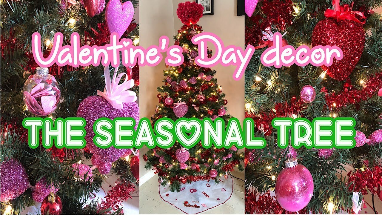 Affordable Diy Valentine S Day Decorations The Seasonal Tree Youtube