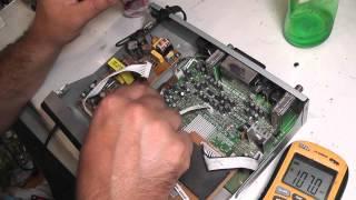 Ремонт ресивера Openbox X-730 PVR нет питания процессора нестандартное включение 1117AJ U901