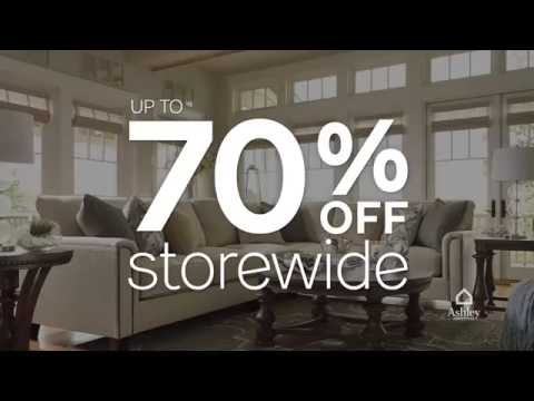 Ashley Furniture Homestore's Sale & Clearance Event