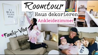 Ikea Schrank | Ankleidezimmer| Schminktisch| Roomtour | Neue Haus - Deko Desenio |MAYRA JOANN
