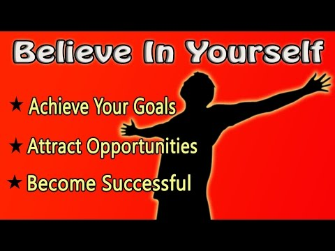 Believe In Yourself: The World Will Be Yours | Isochronic Subliminal Hypnosis