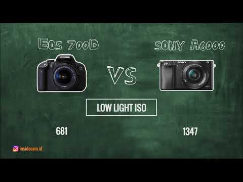 Duel Beda Genre Canon Eos 700d vs Sony Alpha 6000