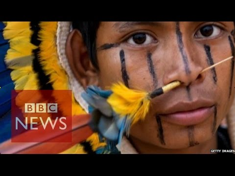Brazil hosts World Indigenous Games - BBC News