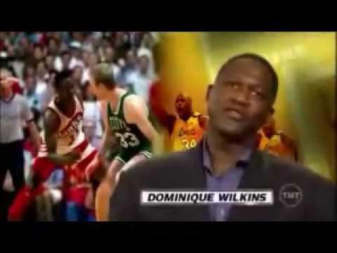 Dominique Wilkins Puts Larry Bird On His Ass