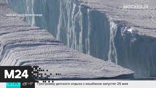 В Антарктиде откололся самый большой в мире айсберг - Москва 24
