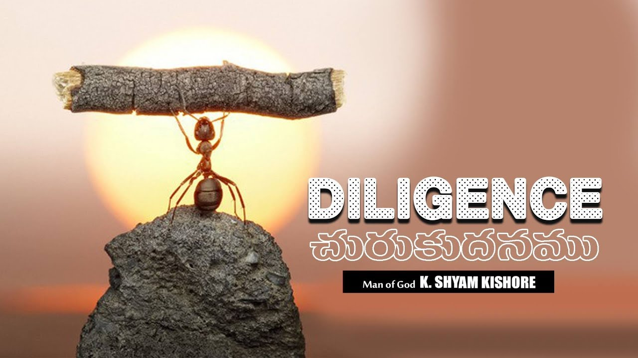 New - Diligence #17089 A Sermon By K Shyam Kishore ( 29th October 2017 )