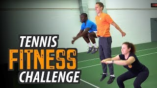 TENNIS FITNESS CHALLENGE | Try This Tennis Workout at Home!