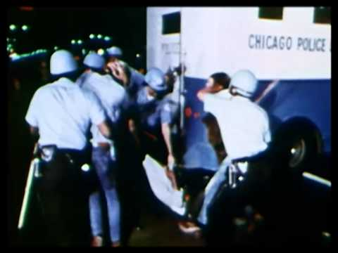 Riots at Democratic Convention Chicago 1968