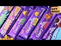 Cadbury Dairy Milk Chocolate All Special Flavors