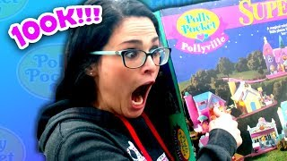 Opening A Sealed Polly Pocket Pollyville SuperSet From 1994!  100k Subscribers Special