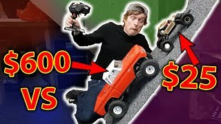 World Cheapest RC Crawler VS World's most expensive Flytec 9118 vs.......