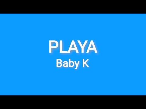 Playa baby k - karaoke - YouTube