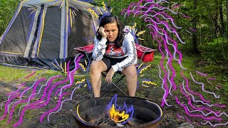 One of LifeOfTheMills's most viewed videos: Elle Mills Goes Camping
