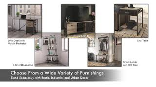 Refinery Collection from Bush Furniture