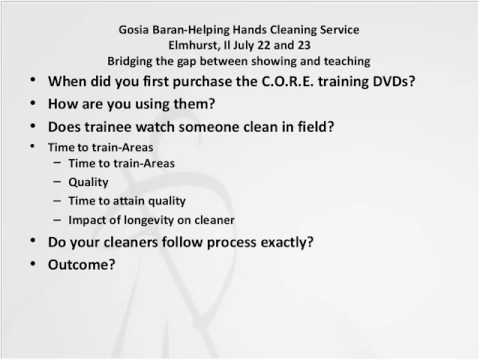 House Cleaning Training