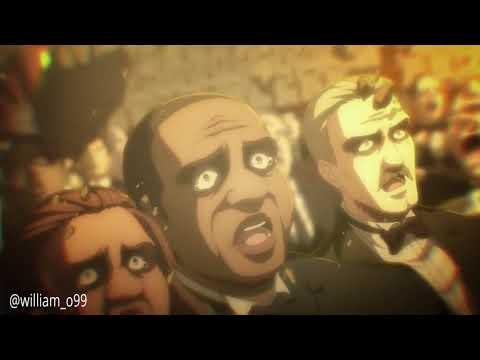 Attack On Titan: Declaration Of War With ətˈæk 0N Tάɪtn <WMId>(OST) | Season 4 | Eren Transformation