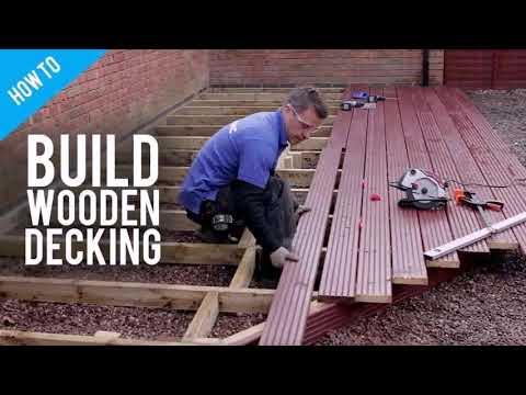 Build A Wooden Deck Over Concrete