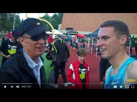 Legend Rick Wohlhuter Meets Clayton Muprhy After 1000m Record Attempt
